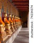 buddha at wat arun  bangkok...