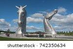 The Kelpies  Falkirk  Scotland