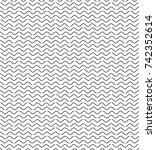 vector seamless texture. modern ... | Shutterstock .eps vector #742352614
