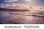 morning sea | Shutterstock . vector #742353181