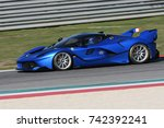 mugello  italy   october 26 ... | Shutterstock . vector #742392241