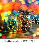 Lights In Jars  Concept Of...