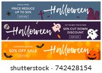 halloween sale banner...