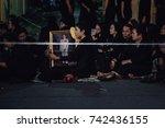 bangkok  thailand  october 26 ... | Shutterstock . vector #742436155