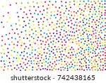 festival pattern with color... | Shutterstock .eps vector #742438165