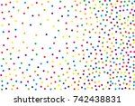festival pattern with color... | Shutterstock .eps vector #742438831