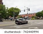 seattle  washington  usa   july ...   Shutterstock . vector #742440994
