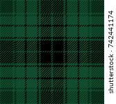 Green And Black Scottish Woven...