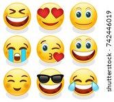 Emoji Smiley Face Vector Desig...
