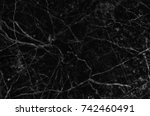 black and white marble stone... | Shutterstock . vector #742460491