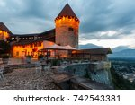 Small photo of Bled Castle (Blejski grad) in Bled. Slovenia