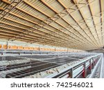 abandoned empty and stopped... | Shutterstock . vector #742546021