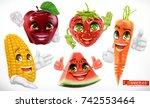 corn  apple  strawberry ...