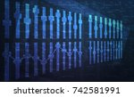 abstract background   Shutterstock . vector #742581991