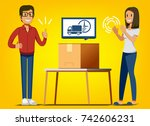 small business your self. the...   Shutterstock .eps vector #742606231