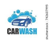 car wash | Shutterstock .eps vector #742637995