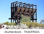 Small photo of Gold Mining ore structure