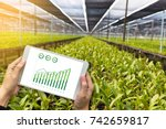 Agriculture Technology Concept...
