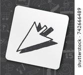 doodle arrow   Shutterstock .eps vector #742666489