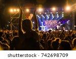 thessaloniki   greece   sept 17 ... | Shutterstock . vector #742698709