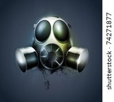 remedy  gas mask  respirator.... | Shutterstock .eps vector #74271877