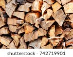 Cut Wood  Firewood For The...