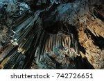 Beautiful Illuminated Cave...