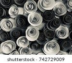 abstract background from... | Shutterstock . vector #742729009