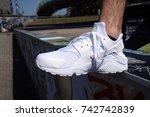 milan  italy   july 22  2017 ... | Shutterstock . vector #742742839