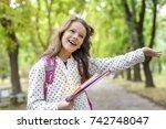 back to school  | Shutterstock . vector #742748047