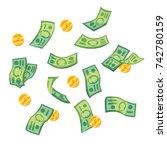 vector illustrations set of... | Shutterstock .eps vector #742780159