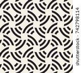 vector seamless pattern. modern ...   Shutterstock .eps vector #742798114