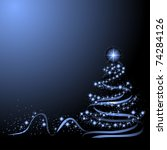 christmas tree | Shutterstock . vector #74284126