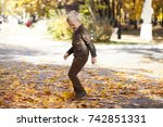 portrait of a young boy in... | Shutterstock . vector #742851331