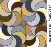 abstract colorful pattern for... | Shutterstock .eps vector #742870567