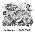 mountain landscape antistress