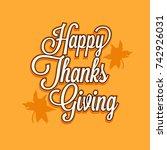 illustration  greeting card... | Shutterstock .eps vector #742926031