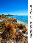Colourful coastline in Robe, South Australia - stock photo