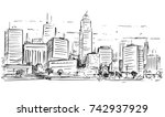 vector cartoon sketchy drawing... | Shutterstock .eps vector #742937929