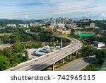 highway in kuala lumpur | Shutterstock . vector #742965115