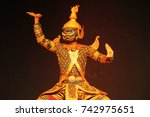 man with mask posing in a