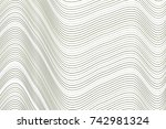 color abstract line  curve  ... | Shutterstock .eps vector #742981324