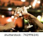 cheers  | Shutterstock . vector #742996141