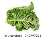 Kale Isolated On White...