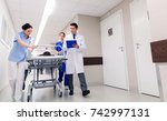 profession  people  health care ... | Shutterstock . vector #742997131
