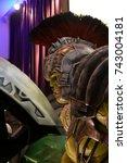 Small photo of Bangkok, Thailand - October 27, 2017: Warrior Hulk Model of Movie Thor: Ragnarok displays at the theater