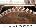 artefacts historical old... | Shutterstock . vector #743028529