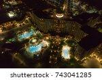orlando  fl  usa   october 22 ... | Shutterstock . vector #743041285