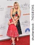 los angeles   oct 24   jessica... | Shutterstock . vector #743181541