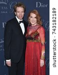Small photo of LOS ANGELES - OCT 25: Jerry Bruckheimer and Linda Bruckheimer arrives for the Princess Grace Awards Gala 2017 on October 25, 2017 in Beverly Hills, CA